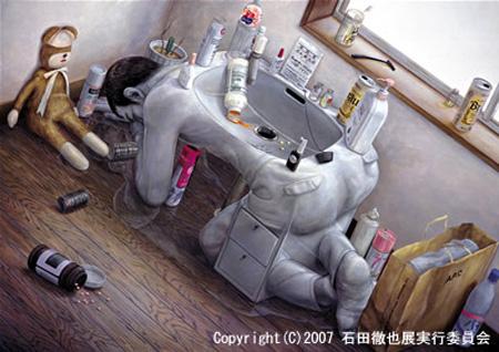 Incredible Paintings by Tetsuya Ishida WwW.Clickherecoolstuff.blogspot.com2