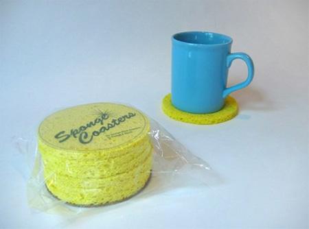 Sponge Coasters