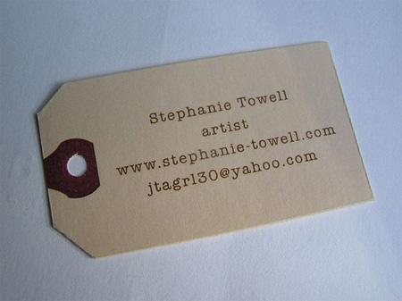 Stephanie Towell Business Card