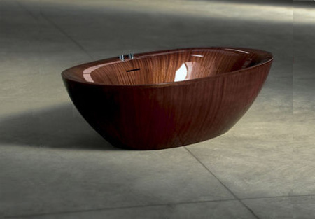 Laguna Pearl Wooden Bathtub 2