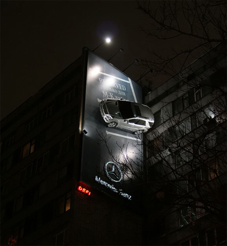 Mercedes Billboard
