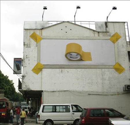 Penline Tape Billboard