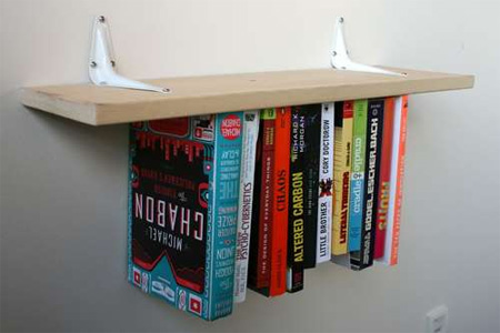 Inverted Bookshelf
