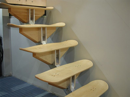 Skateboard Stairs