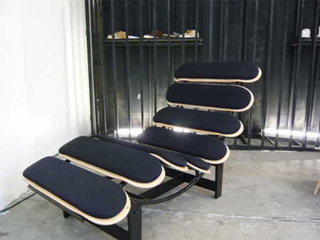 Skateboard Jet Set Lounge Chair