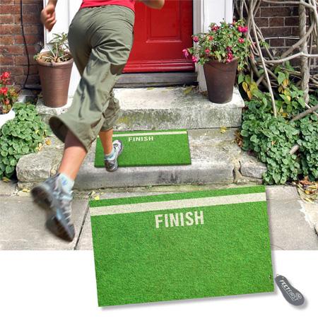 Finish Line Doormat