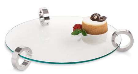Chrome Ring Platter