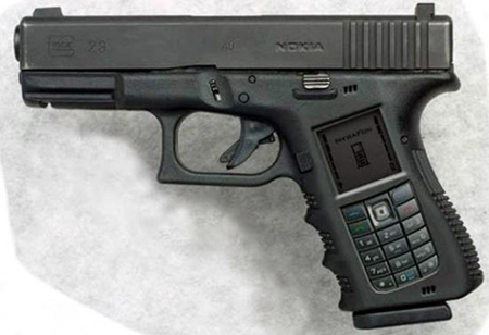 Gun Cell Phone