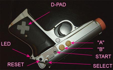 Gun NES Console