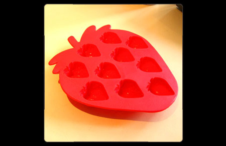 Strawberry Ice Cube Tray
