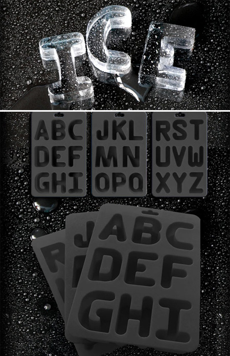 Alphabet Ice Cube Tray