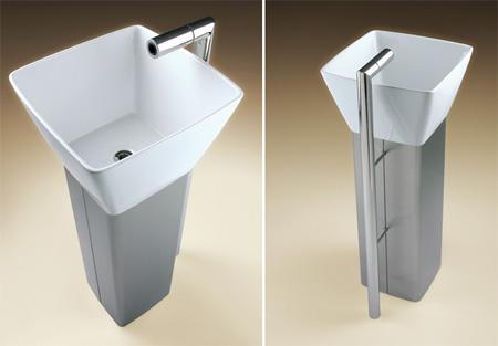 Flo Pedestal Sink
