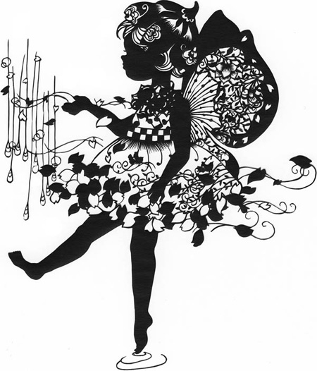 Paper Cutting Art by Aoyama Hina 2