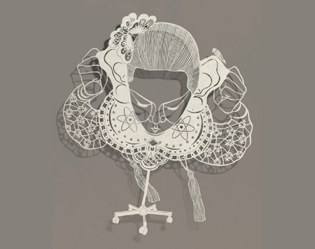 Paper Cutout Drawings by Bovey Lee 7
