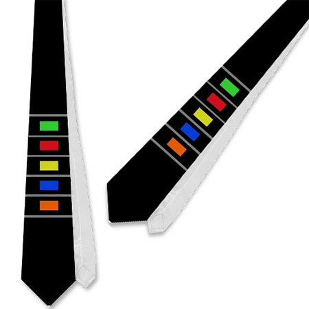 Guitar Hero Tie