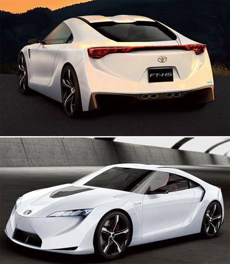 Toyota FT-HS Concept Car