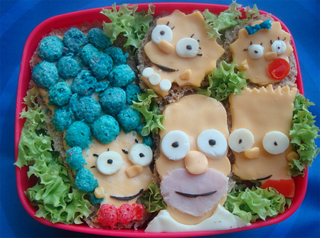 The Simpsons Bento