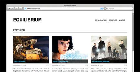 Equilibrium Theme