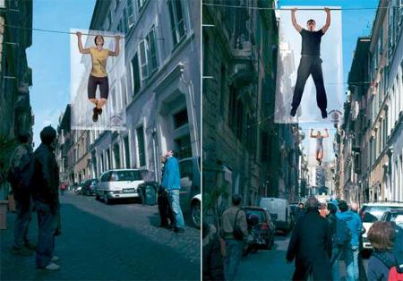 Sparring Partner Gym Advertisement