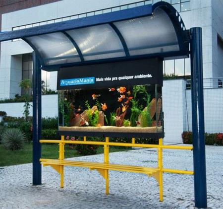 Bus Stop Aquarium