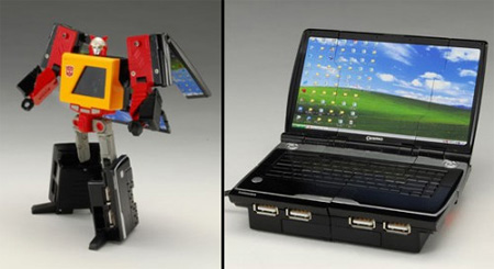 Transformer Laptop USB Hub