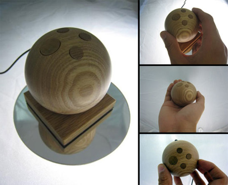 Wooden Computer Mouse