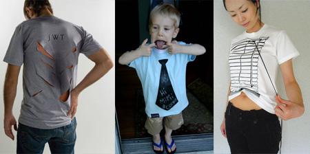 10 Unusual and Creative T-Shirts