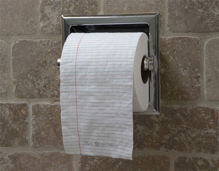 Notepad Toilet Paper