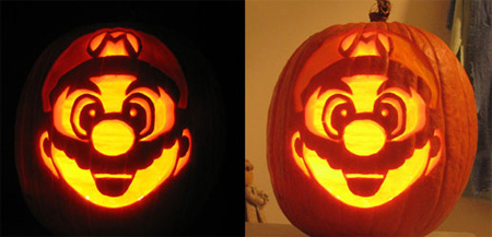 Super Mario Pumpkin