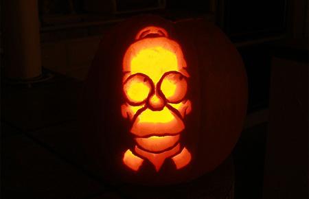 Homer Pumpkin