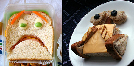 15 Amazing Sandwich Art Creations