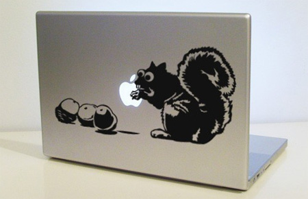 Squirrel MacBook Sticker
