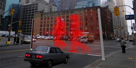 Innovative Laser Crosswalk Concept