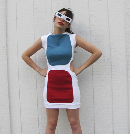 3D Glasses Dress