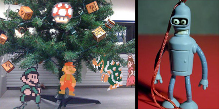 14 Unusual Christmas Ornaments
