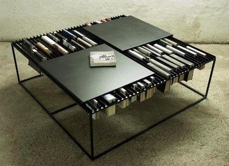 Coffee Table Bookshelf