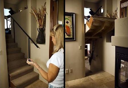Hidden Door Staircase