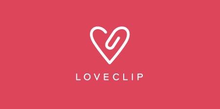 Love Clip Logo
