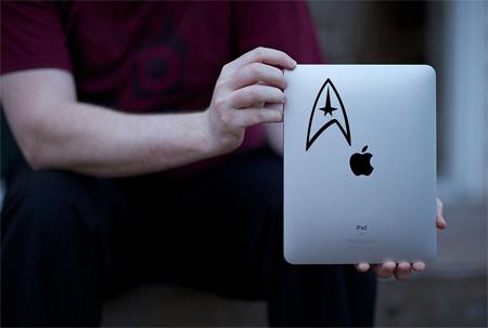 Star Trek iPad Sticker