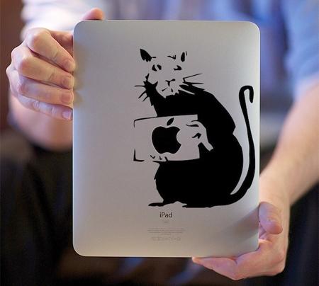 I  Smell a Rat iPad Sticker