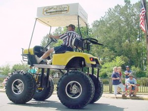 12 Cool and Unusual Golf Carts