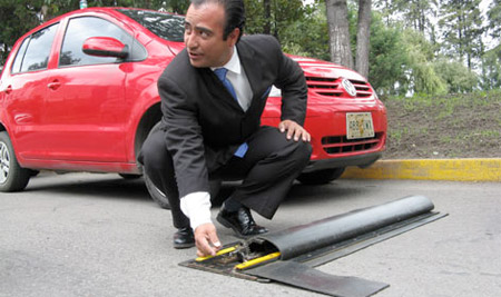 Retractable Speed Bumps