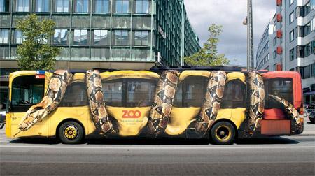 Copenhagen Zoo Snake Bus