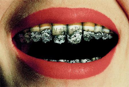 Sigara içenler Diş