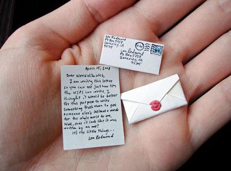 Worlds Smallest Mail