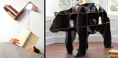 15 Cool and Unusual Bookshelves
