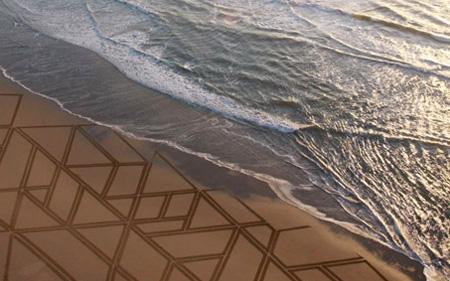 Massive Sand Art