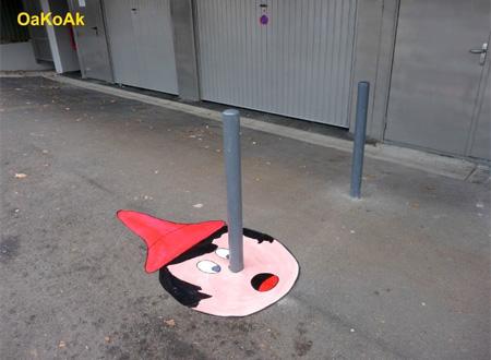 Pinocchio Street Art