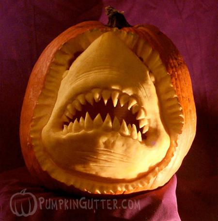 Shark Pumpkin