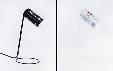 Beer Can Lamp